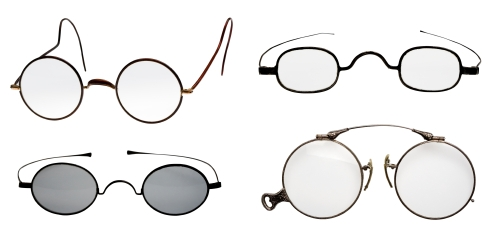 Four Pairs of Retro Reading Glasses